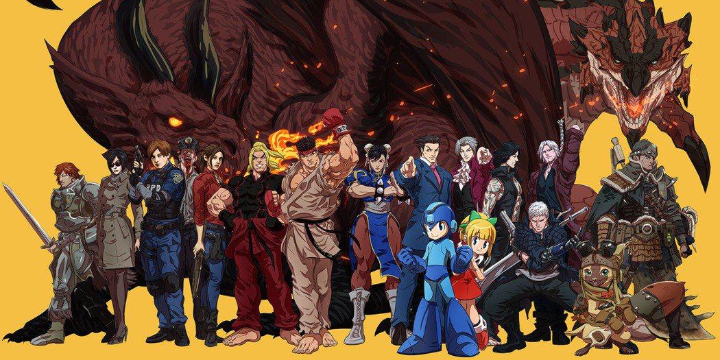 圖:Capcom