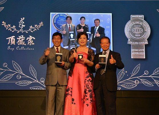 頂藏家三位創辦人金牌按讚車正國(左起),畢麗家,賴舜堂。  頂藏家/提供
