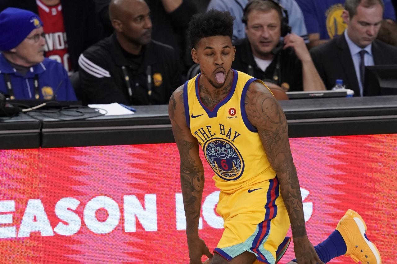 「黑人問號」梗圖本尊楊恩,NBA生涯能否延續至今也一樣充滿問號阿。 歐新社