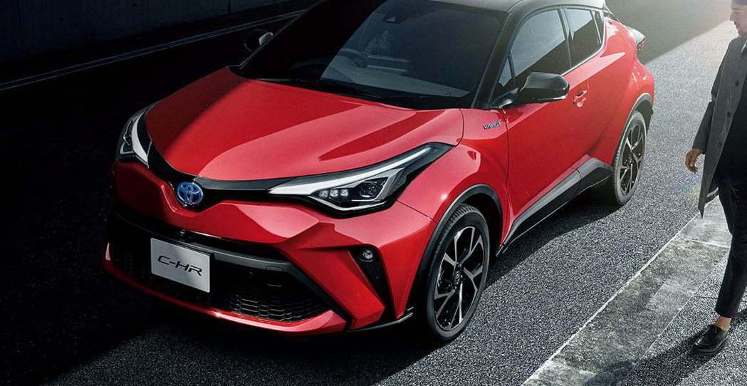 Toyota C-HR。 摘自Toyota.jp