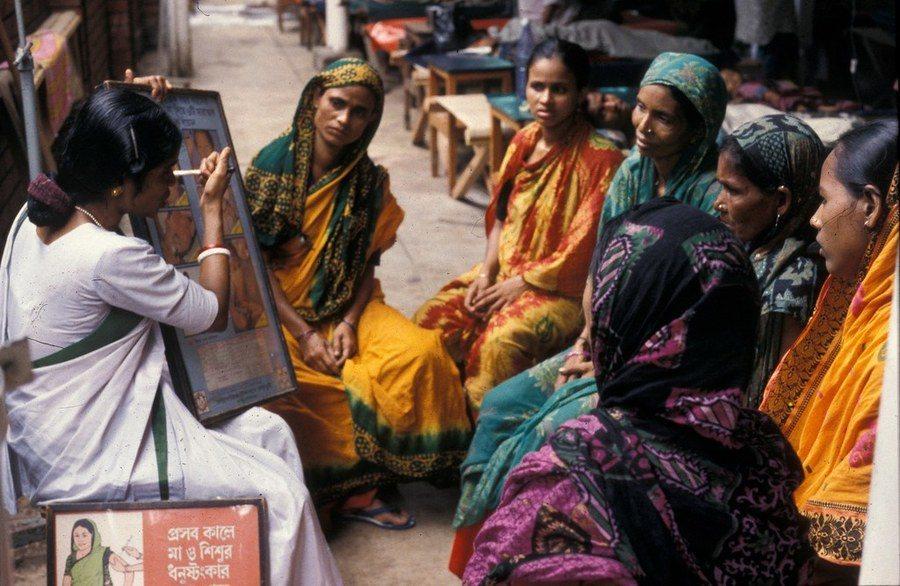 孟加拉國內的印度教徒及伊斯蘭教徒相處並不和諧。(photo by AusAID ...