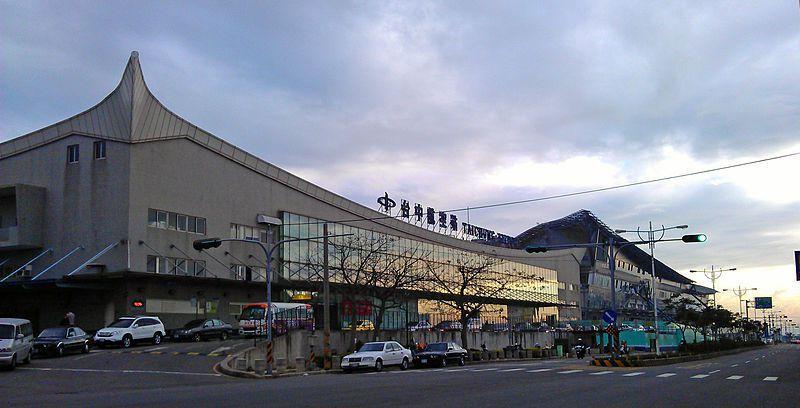 台中國際機場(原:台中清泉崗機場)。 圖/Wikimedia