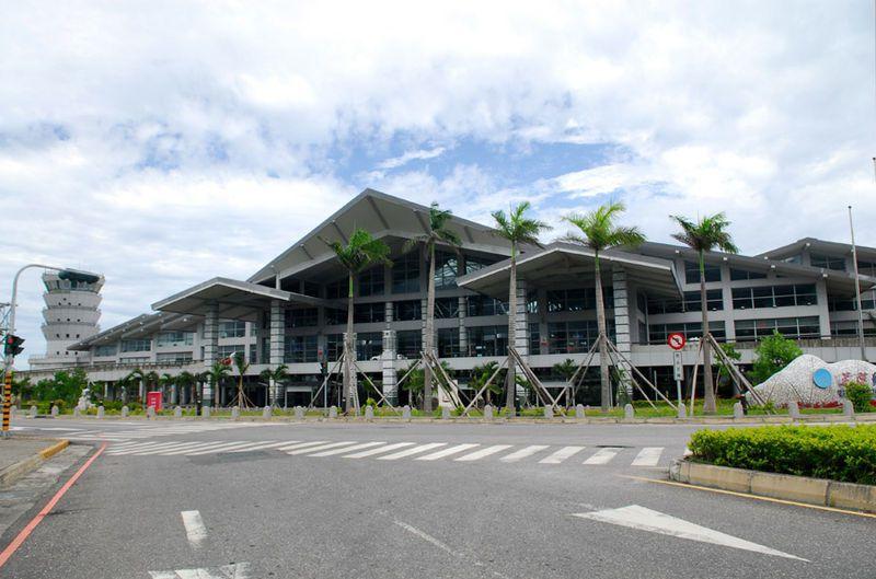 花蓮機場。 圖/Wikimedia