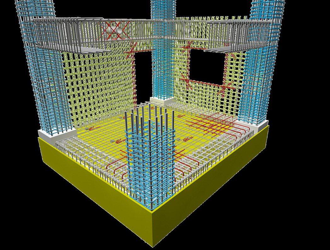 建築安全履歷3D圖完整呈現。圖/戴雲發提供