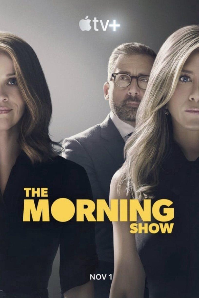 瑞絲薇絲朋(左起)、史提夫卡爾與珍妮佛安妮絲頓是「晨間直播秀」3大焦點。圖/摘自...