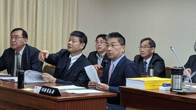 內政部長徐國勇上午赴立法院內政委員會報告備詢。記者蔡佩芳/攝影