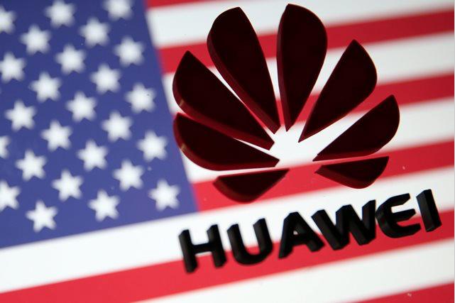 華為正與部分美國電訊公司就授權5G網路技術,進行早期談判。路透社資料照片