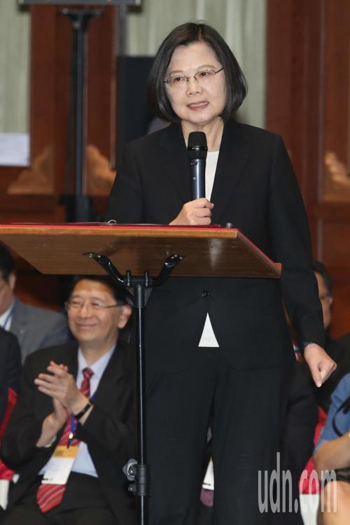 「國際人權聯盟」第40屆年會開幕上午在圓山飯店舉行,這是首次在台灣舉辦,蔡英文總...