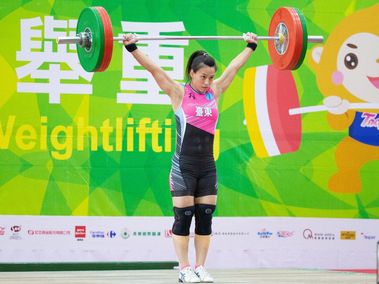 郭婞淳在女子59公斤級輕鬆摘金。記者季相儒/攝影