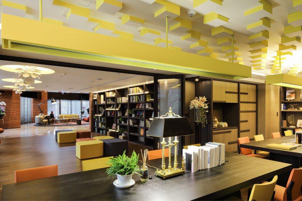 「逸文苑」有多元的公共設施。圖/京城建設提供