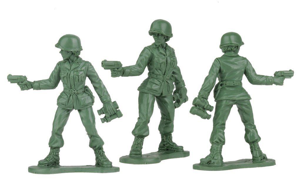 美國賓州BMC玩具公司預定明年推出模型玩具女兵。擷自BMC公司網站