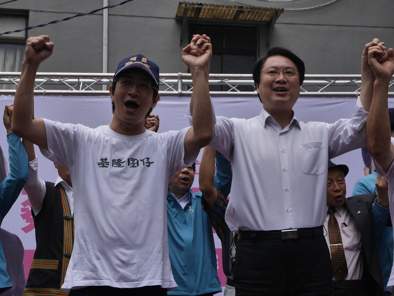 基隆市長林右昌,上午砲轟韓國瑜,市長就做不好了,總統怎麼可能做得好。記者吳淑君/...
