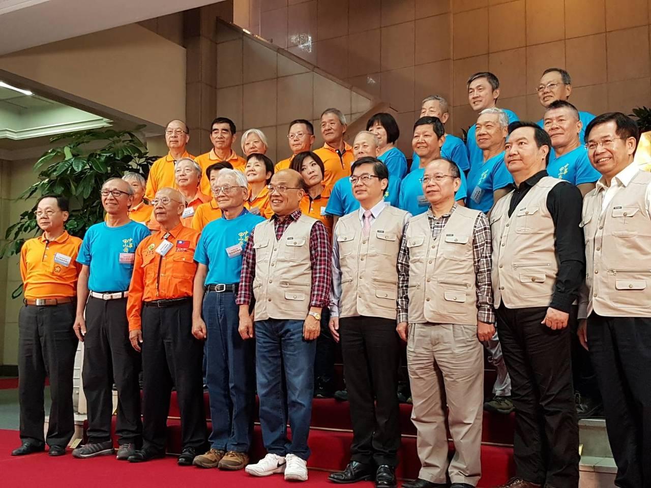 行政院長蘇貞昌今天正式宣布開放山林的五大政策主軸。記者/林麗玉攝影