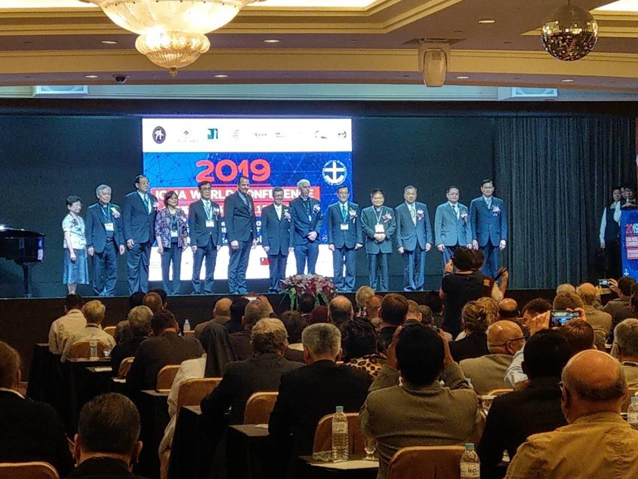 國際基督徒海事協會第11屆世界會議今天在高雄辦50周年世界會議。記者謝梅芬/攝影