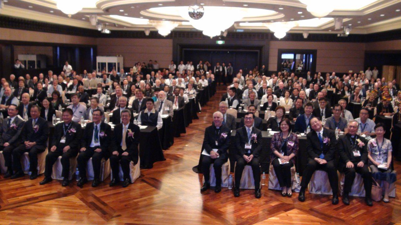 國際基督徒海事協會第11屆世界會議今天在高雄辦50周年世界會議,會員是27個天主...
