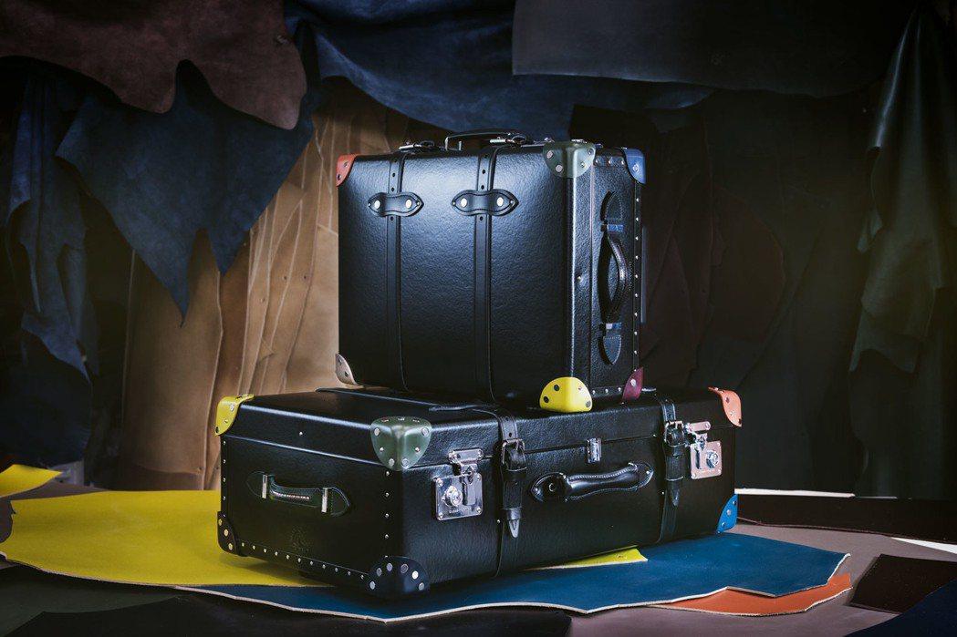全新的Paul Smith x Globe-Trotter限量聯名行李箱除了可登...