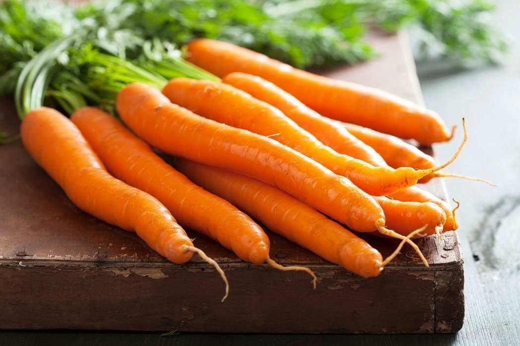 胡蘿蔔經烹調後更有助人體吸收β-胡蘿蔔素。圖/取自ingImage