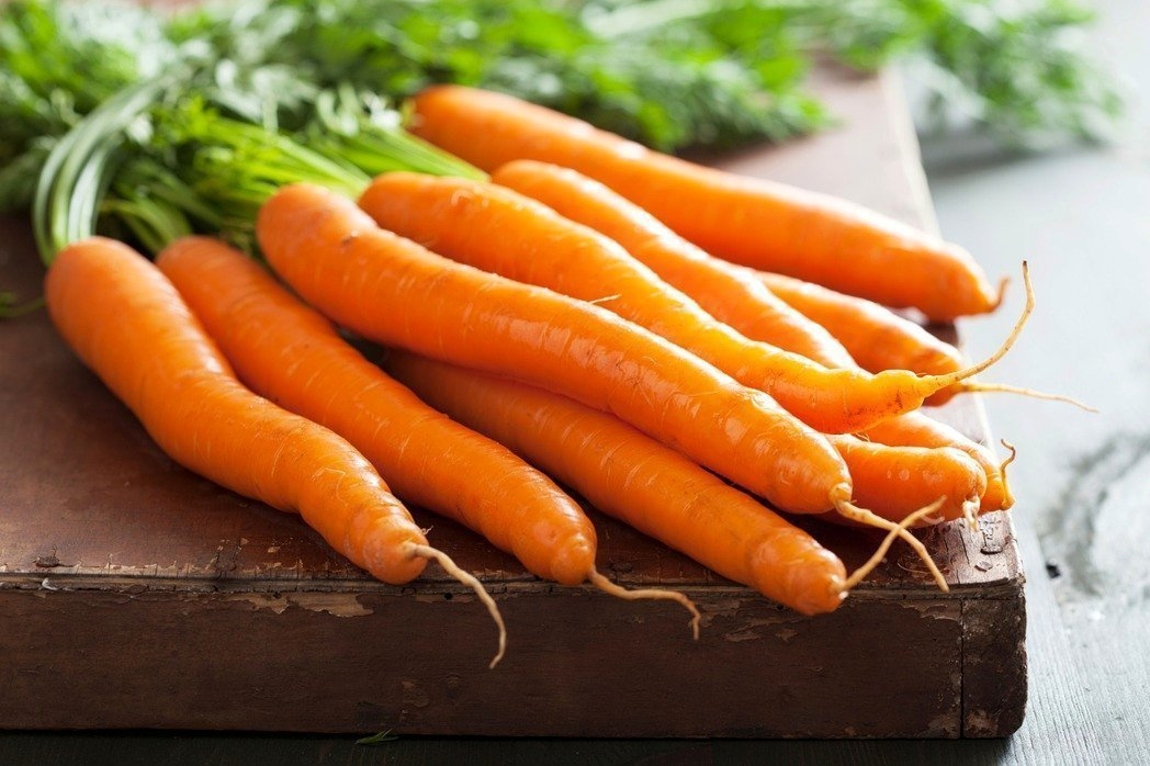 胡蘿蔔經烹調後更有助人體吸收β-胡蘿蔔素。圖/ingimage