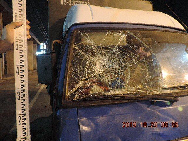 台南近來死亡車禍頻傳,麻豆區176線昨天凌晨又發生。圖/警方提供