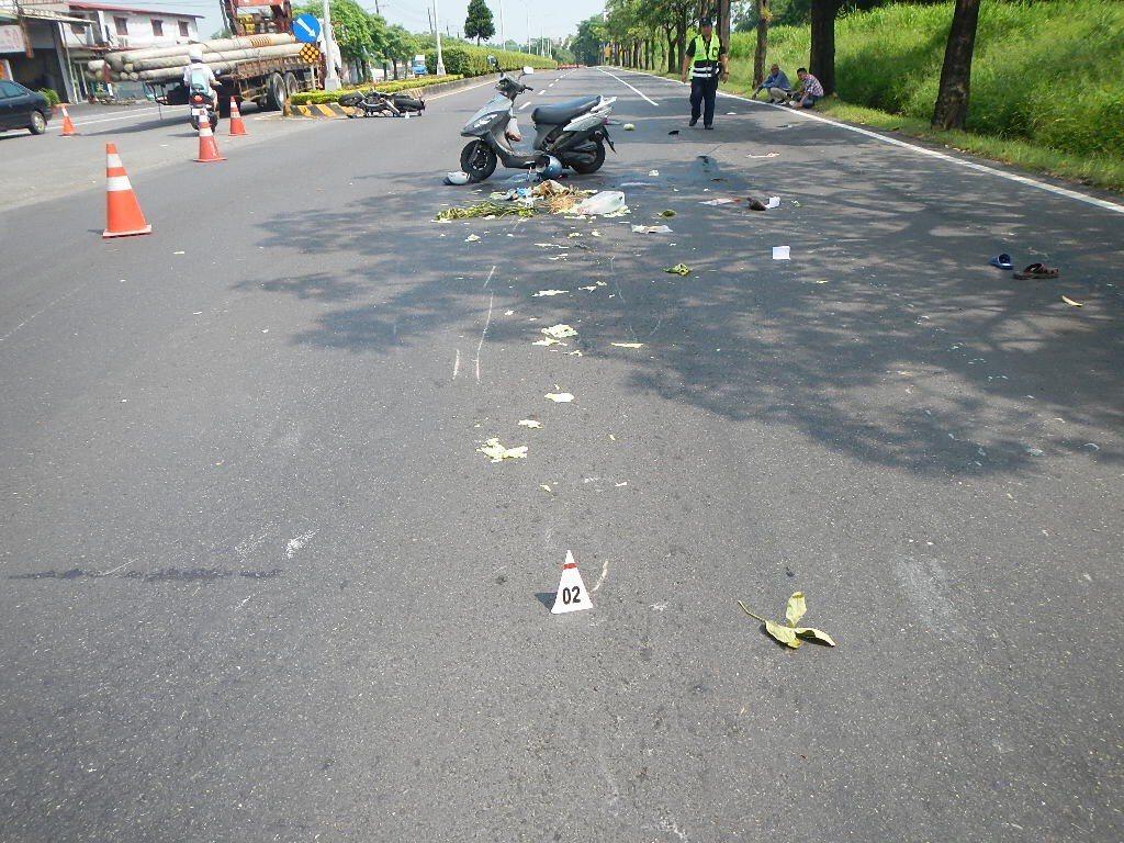 台南近來死亡車禍頻傳。圖/警方提供