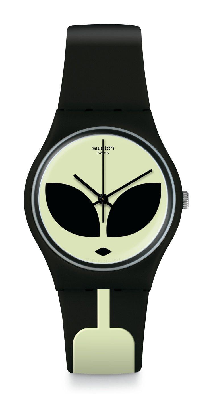 SWATCH外星突擊腕表,2,050元。圖/SWATCH提供