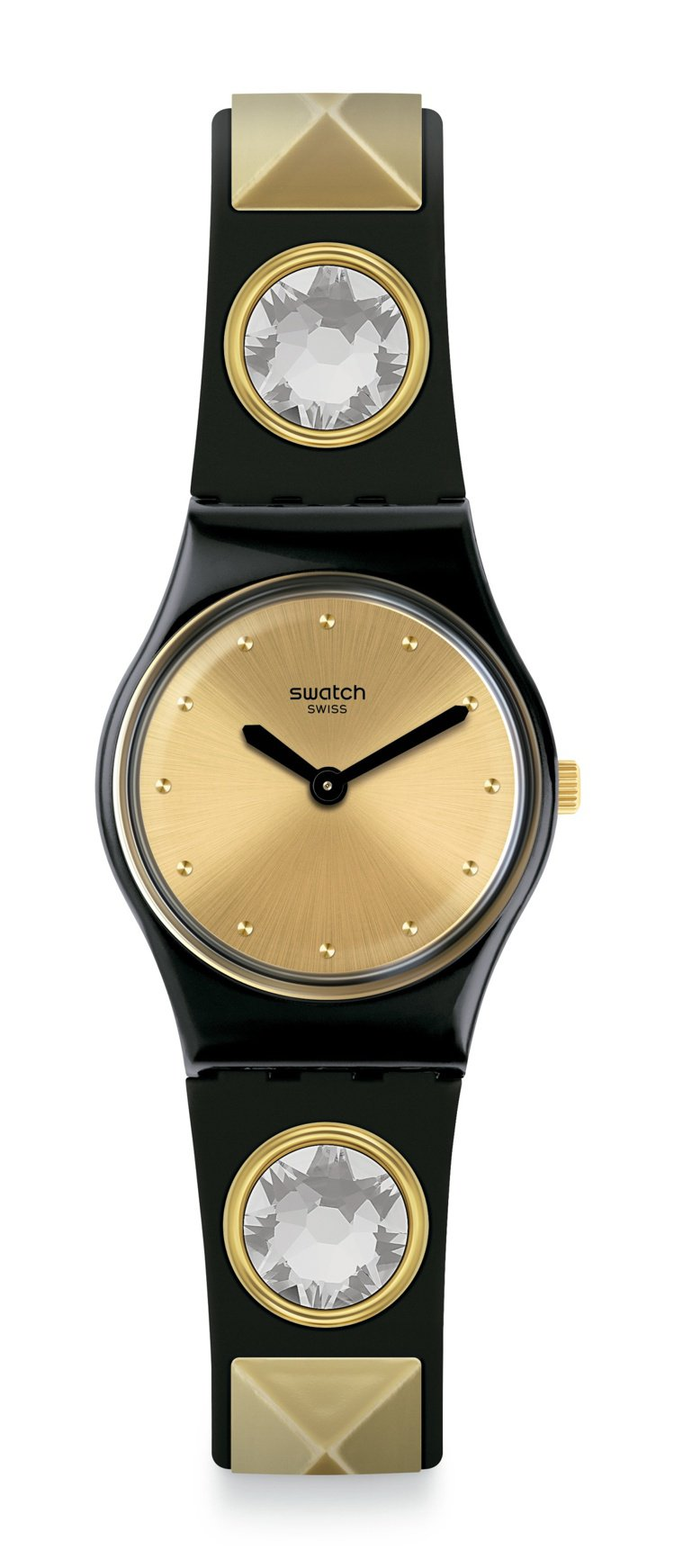SWATCH ORTRUD黑魔女腕表,2,250元。圖/SWATCH提供