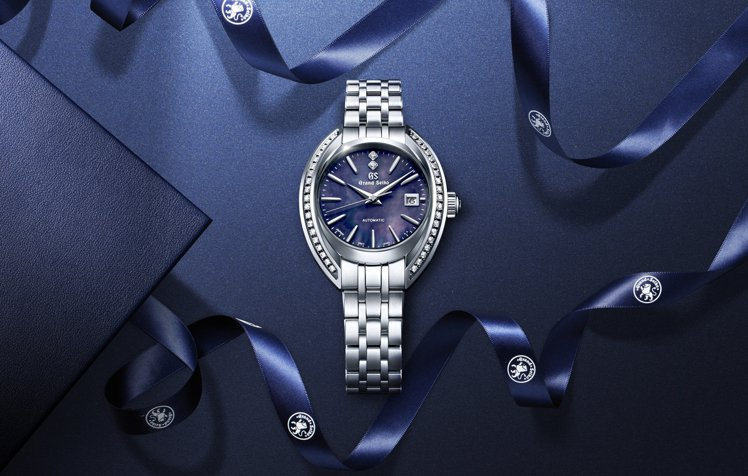 Grand Seiko Elegance Collection女表,不鏽鋼表殼搭...