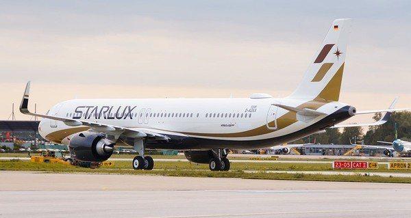 星宇航空對外公布首架全新塗裝的A321neo,預計10月28日抵台。圖/摘自星宇...