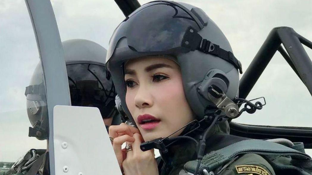 泰國前王妃詩妮娜。 法新社