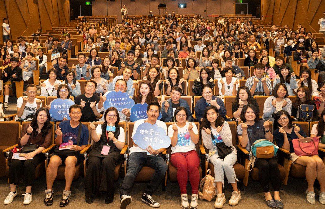 藍正龍出席高雄電影節映後活動。圖/華映提供