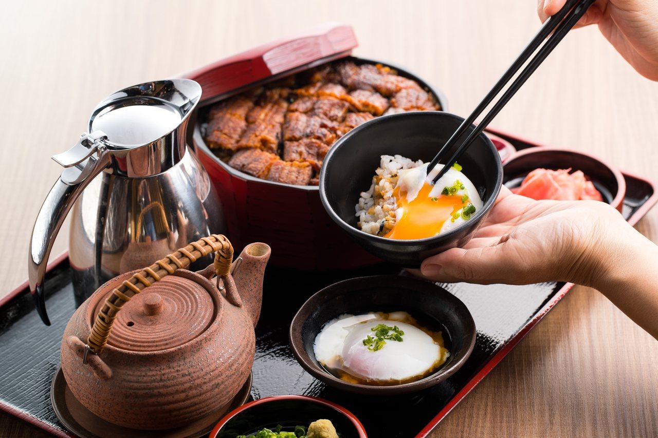 夢幻鰻魚桶飯3+1吃(雙人份)售價690元。圖/無敵⼀家 鰻や提供