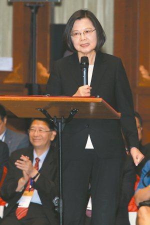 「國際人權聯盟」年會昨首度在台舉行,蔡總統致詞時,強調台灣今年成為亞洲第一個同婚...