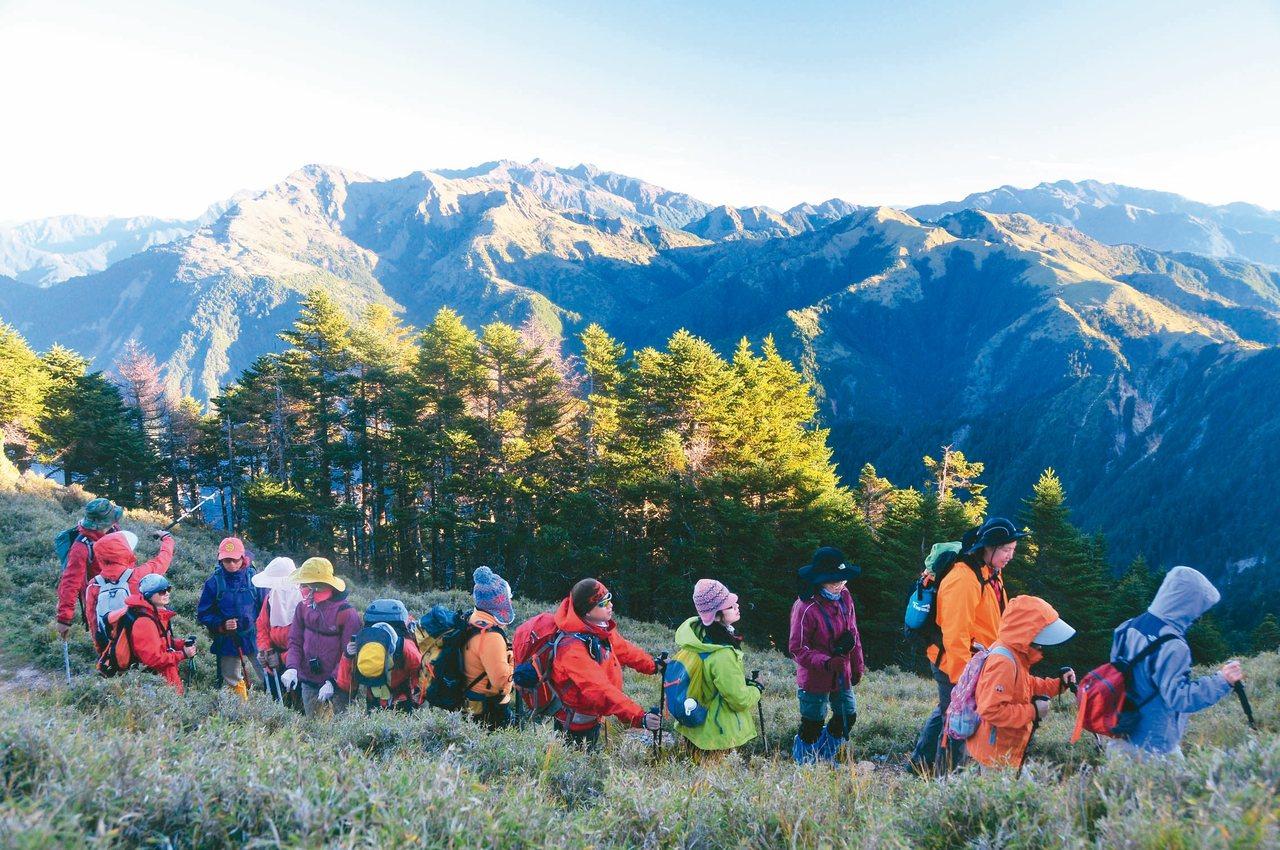 行政院長蘇貞昌昨天宣布國家山林解禁政策,全面開放山林。 圖/聯合報系資料照片