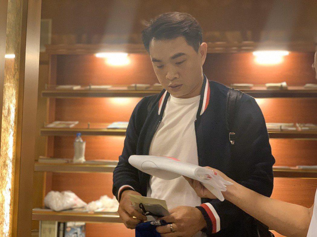 彭政閔首次擔任中華隊教練,世界12強賽將是生涯初體驗。記者藍宗標/攝影