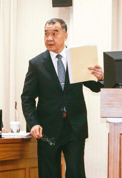 國安局長邱國正在立法院坦承陳同佳投案一事,因為港方舉措的「時機點很不妥」,我國不...