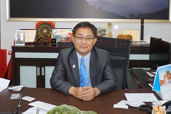 諾瓦材料科技董事長楊聯智。 楊連基/攝影