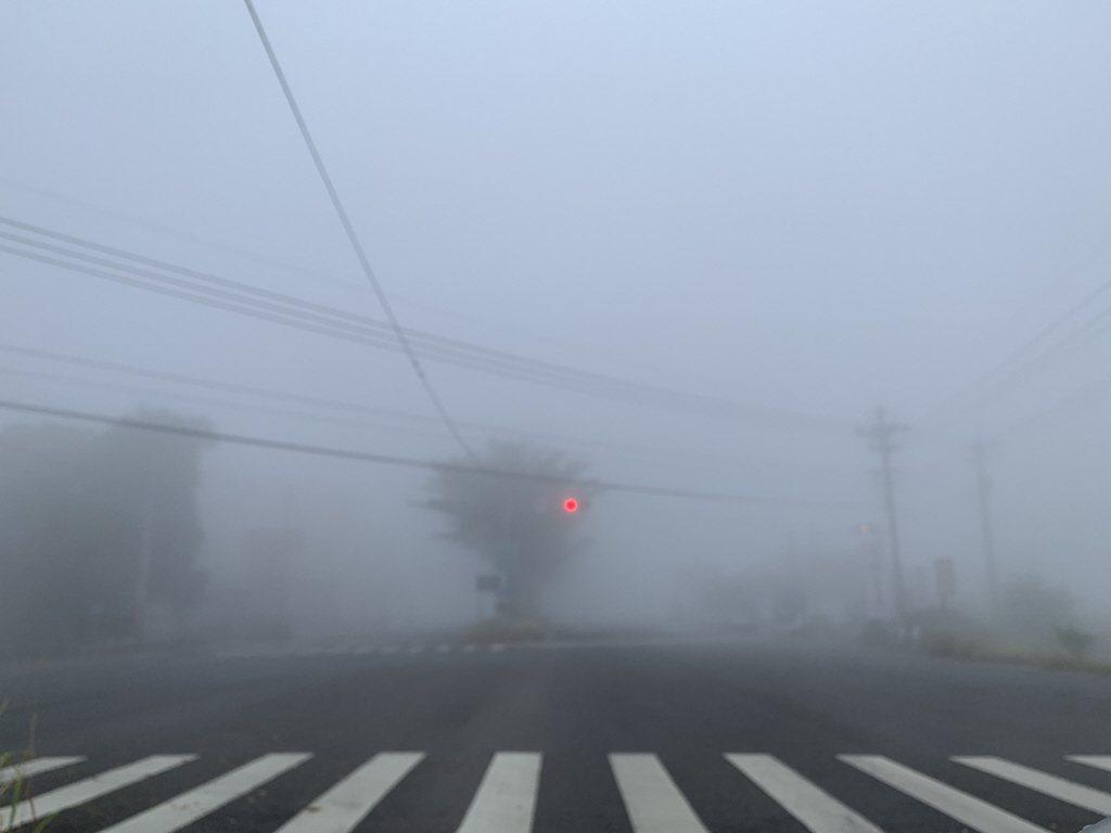 圖為2018年11月時,台南早晨霧茫茫空污嚴重。 聯合報系資料照片/記者吳淑玲攝...