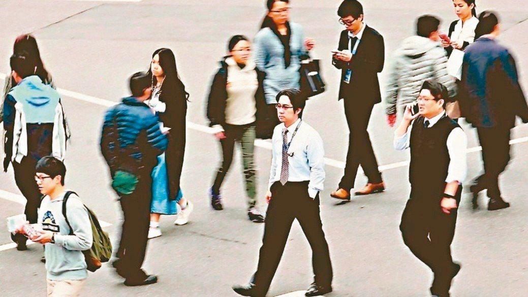 9月失業率也較上月下降0.09個百分點。報系資料照