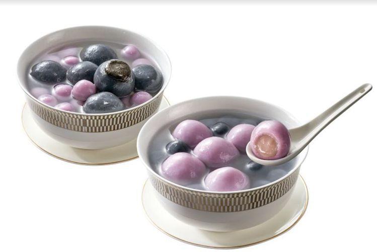 迷客夏跟7-ELEVEn推聯名「芋頭湯圓」。圖/7-ELEVEn提供