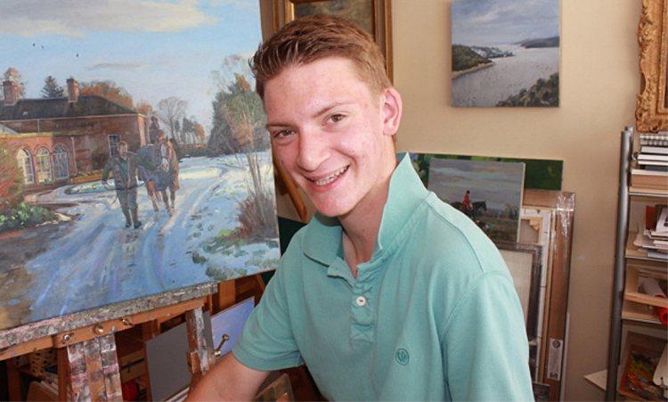 Kieron Williamson現已是16歲的青少年。圖擷自Eastern D...