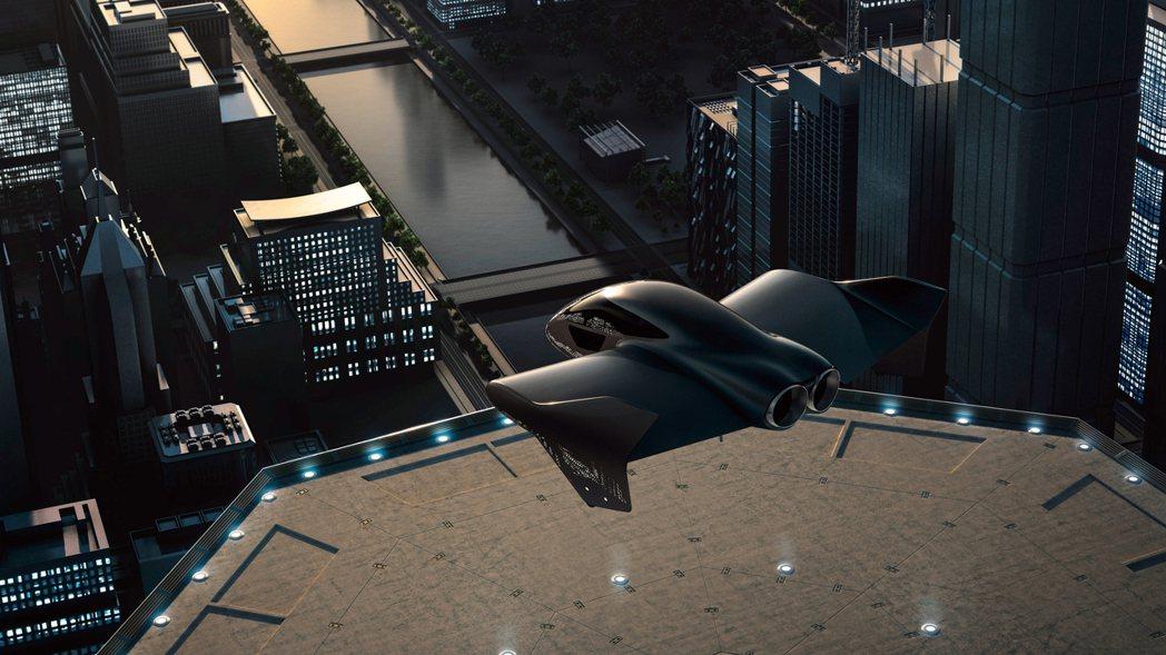 Porsche與波音公司合作發展飛天車新產業。 圖/Porsche提供