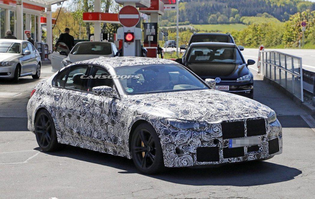 新世代BMW M3最大馬力估計可達到480hp,若為Competition版本,...