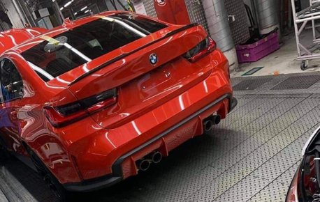 令人期待又好奇的長相 這台難道是新世代BMW M3?