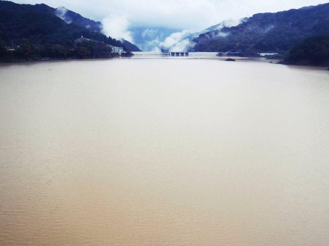 八場水庫的壩體採用重力壩設計,壩高116公尺、壩頂寬291公尺,總蓄水量高達1億...