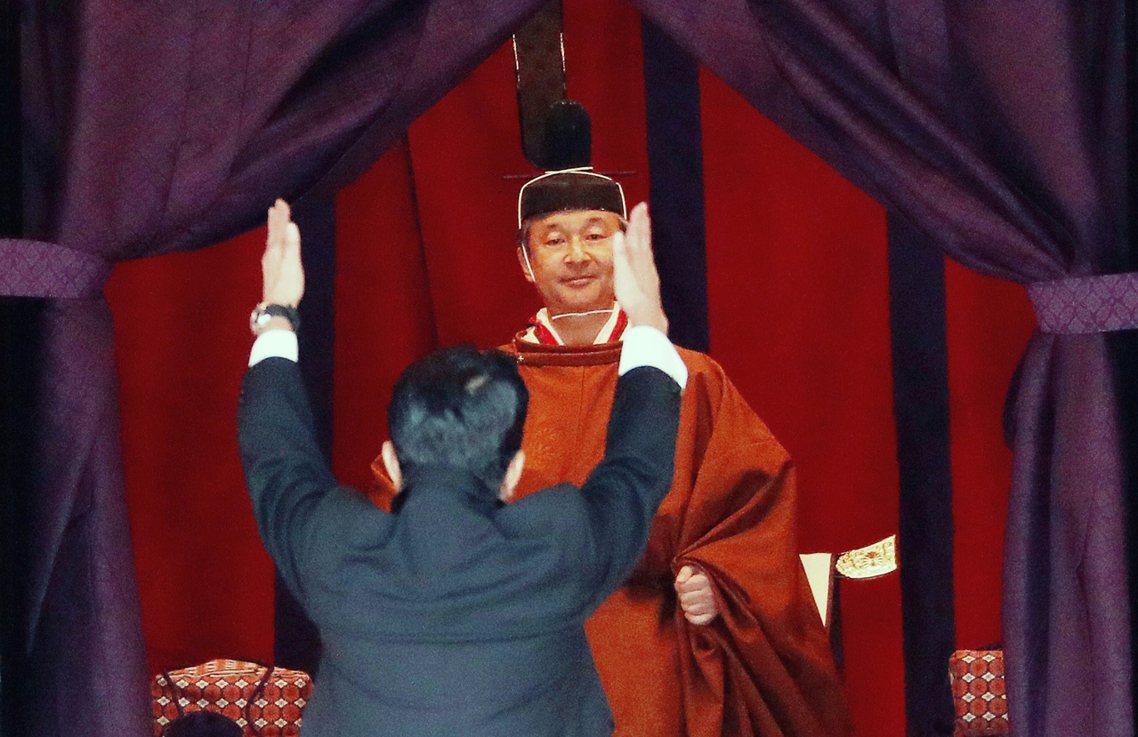 日本在22日舉行了天皇的即位禮正殿之儀,是德仁天皇從今年5月皇位繼承後,最為關鍵...