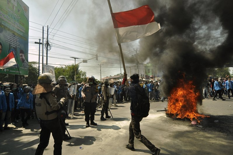 攝於9月25日,印尼蘇拉威西。 圖/美聯社