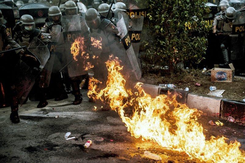 攝於9月30日,印尼西爪哇。 圖/美聯社