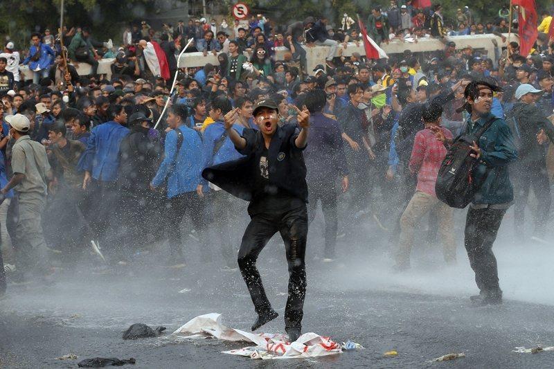 攝於9月24日,印尼雅加達。 圖/美聯社