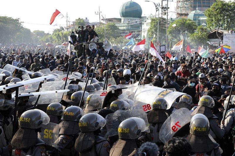 攝於9月26日,印尼東爪哇。 圖/美聯社