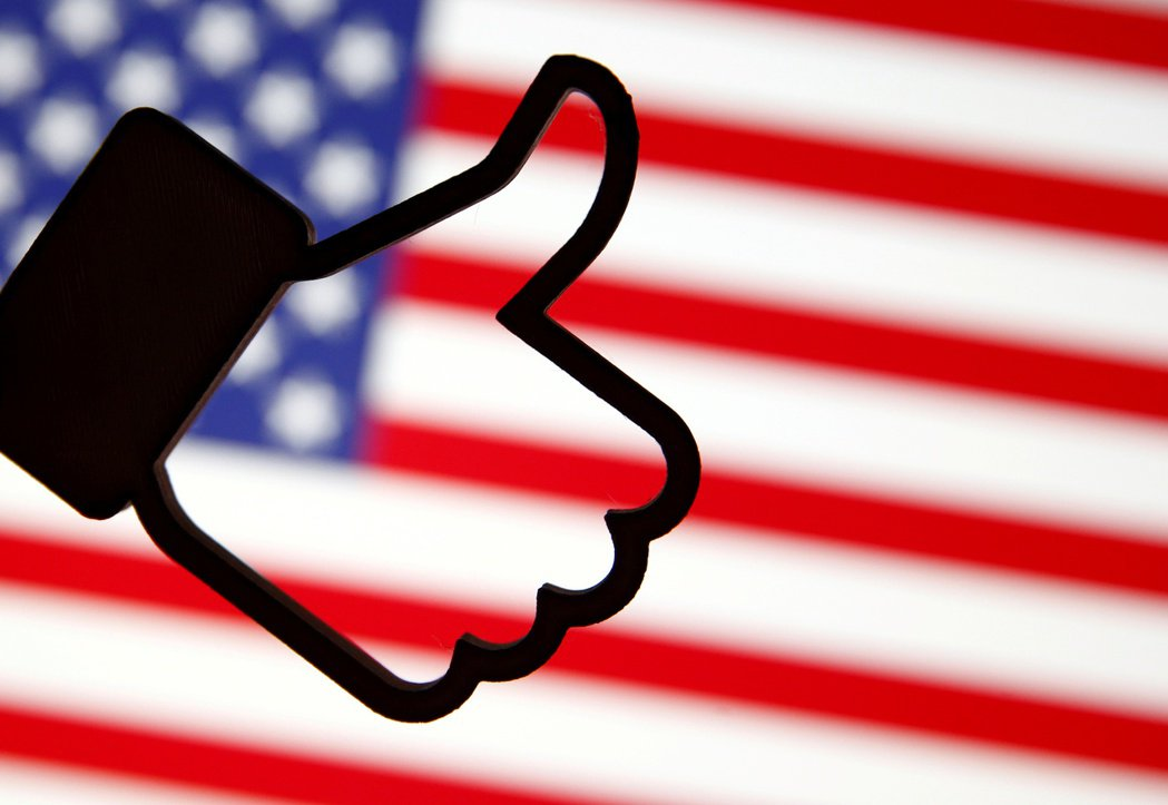 臉書將明確標註國營媒體,維護美國總統大選公正性。 路透